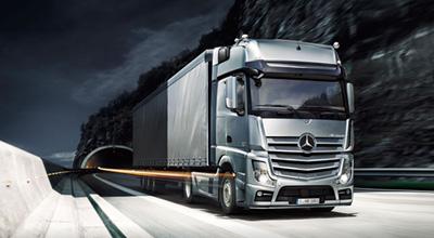 Ilustrační foto kamionu